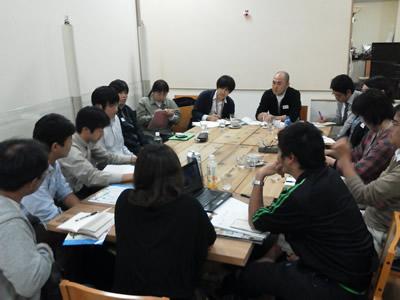 第1回宮城メンバー情報交換会(2012年10月)