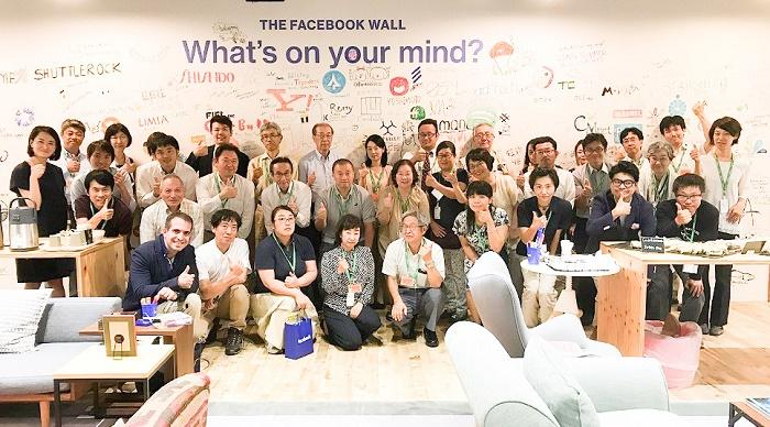 FACEBOOK参加者で記念撮影