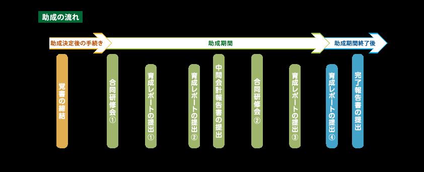 助成の流れ(図)